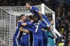 Espanhóis resolvem, e Chelsea vence partida difícil diante do Swansea Adrian DENNIS/AFP