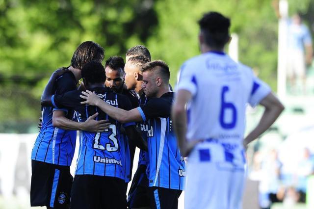 Grêmio vence o Cruzeiro por 2 a 0 e segue em terceiro no Gauchão Mateus Bruxel/Agência RBS