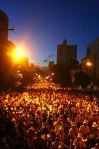 O que deu certo e o que não funcionou no Carnaval de Rua deste sábado em Porto Alegre Felipe Nogs/Agencia RBS