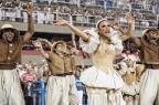 Homenageada pela Grande Rio, Ivete Sangalo desfila duas vezes YASUYOSHI CHIBA / AFP/AFP