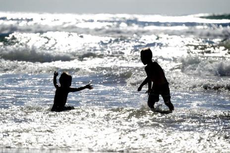 Mar claro, tempo firme, águas-vivas: o que marcou o veraneio de 2017 no Litoral Norte (Lauro Alves/Agencia RBS)