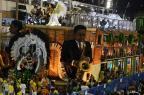 Perícia constata falha em estrutura de alegoria da Unidos da Tijuca Vanderlei Almeida/AFP