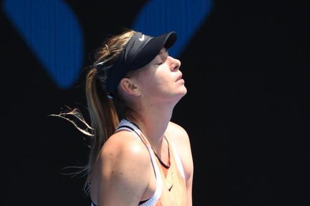 Sharapova não recebe convite e fica fora de Roland Garros WILLIAM WEST/AFP