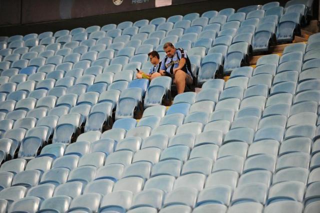 Jogo entre Grêmio e Ceará tem pior público da história da Arena Félix Zucco/Agencia RBS