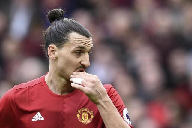 Ibrahimovic recusa proposta do LA Galaxy, diz jornal inglês Oli Scarff/AFP