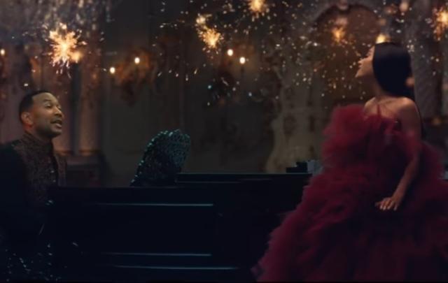 """Disney divulga clipe de """"A Bela e a Fera"""" estrelado por John Legend e Ariana Grande Disney / Reprodução/Reprodução"""
