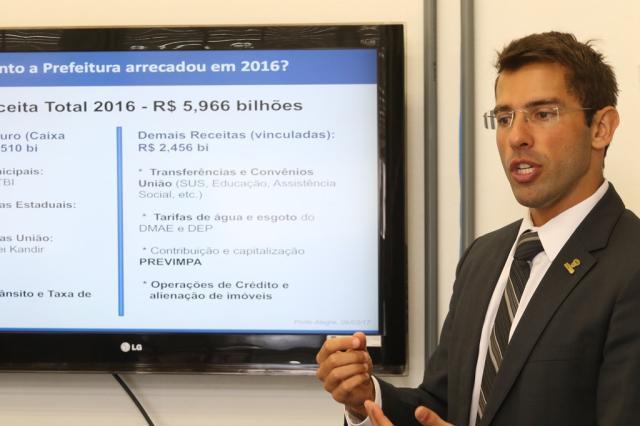 Medidas de ajuste adiam chance de atrasos de salários em Porto Alegre para maio, diz secretário da Fazenda Luciano Lanes / PMPA/PMPA