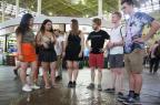"""Estudantes da """"universidade dos sonhos"""" fazem tour por pontos turísticos da Capital Robinson Estrásulas/Agencia RBS"""