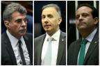 Temer formaliza Jucá, Aguinaldo Ribeiro e André Moura como líderes do governo Montagem sobre fotos de arquivo / Agência Brasil/Agência Brasil