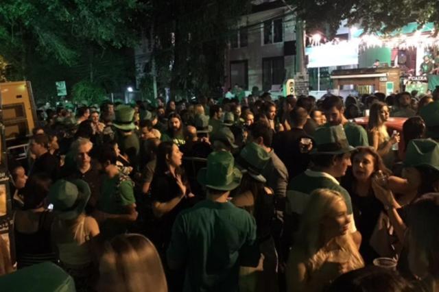 Rua Padre Chagas será fechada para a realização do St. Patrick's Day Reprodução/Twitter