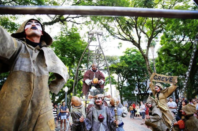 Projeto levará espetáculos de rua ao Parque da Redenção Anderson Fetter/Agencia RBS