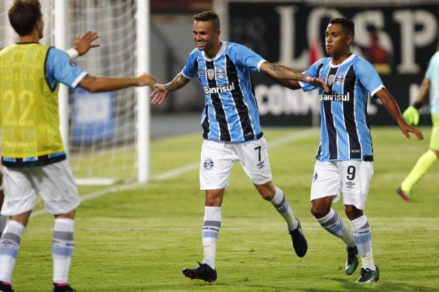 Após gol na Libertadores, Luan engrena e vira esperança do Grêmio no Gauchão LUCAS UEBEL/GREMIO FBPA