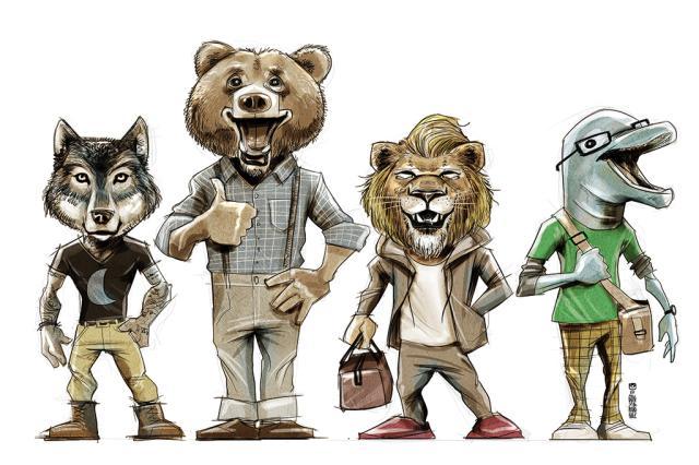 Quiz do relógio biológico: você é urso, lobo, golfinho ou leão? /