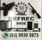 Polícia investiga plano para matar policiais e agentes penitenciários Divulgação / Polícia Civil/Polícia Civil