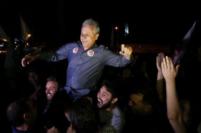 Marco Alba é reeleito prefeito de Gravataí Carlos Macedo/Agencia RBS