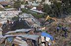Deslizamento deixa 15 pessoas mortas e dezenas de desaparecidos na Etiópia ZACHARIAS ABUBEKER/AFP