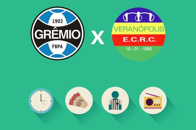Grêmio x Veranópolis: tudo o que você precisa saber para acompanhar a partida Arte ZH/