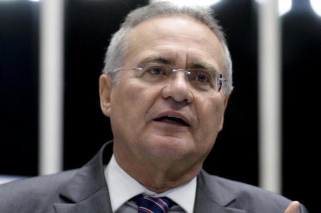 Renan Calheiros fura com centrais e não comparece em ato contra governo Jefferson Rudy/Agência Senado