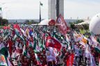 Manifestação contra reforma da Previdência reúne 10 mil pessoas em Brasília Lula Marques/AGPT