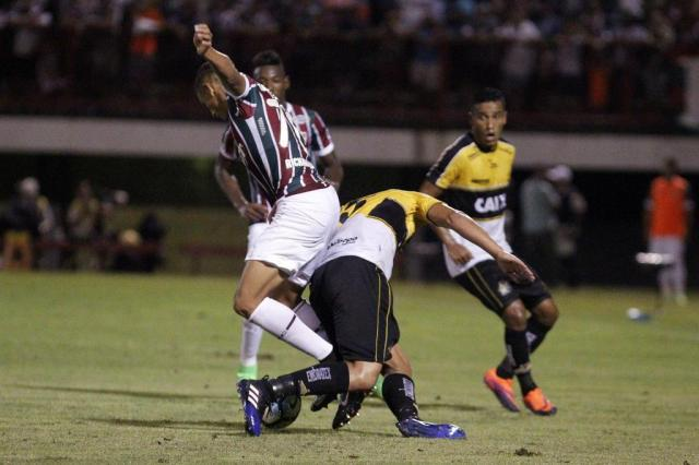 Criciúma luta, mas é eliminado pelo Fluminense na Copa do Brasil NELSON PEREZ/FLUMINENSE F.C