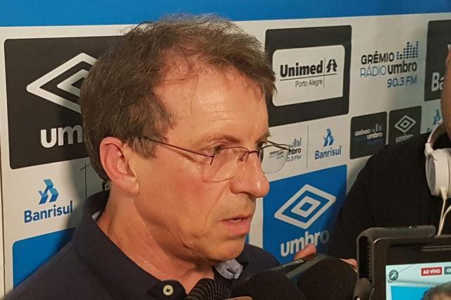 Odorico Roman confirma a contratação deAndré Zanotta como diretor-executivo do Grêmio Rodrigo Oliveira/Agência RBS