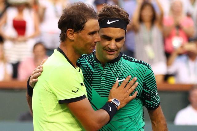 Com ótima atuação, Federer derrota Nadal emIndian Wells Clive Brunskill/AFP