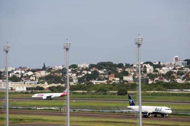 Obras começam por ampliação da pista, afirma novo controlador do aeroporto Salgado Filho Anderson Fetter/Agencia RBS