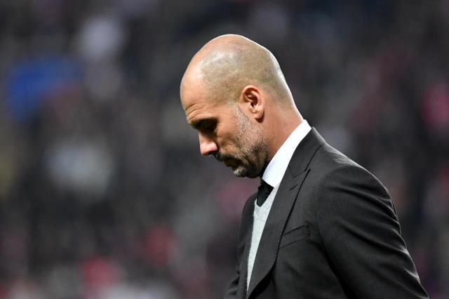 """""""Num grande clube eu já teria sido demitido"""", afirma Guardiola Pascal GUYOT/AFP"""