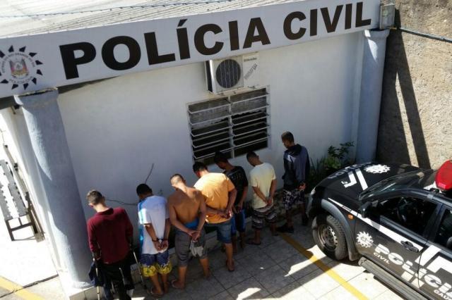 Suspeitos de assaltos, homicídios e tráfico são presos em Esteio Divulgação/Polícia Civil