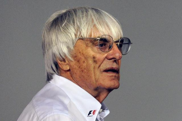 Ecclestone pedirá a Temer mais investimento no GP do Brasil de F-1 Roslan Rahman,AFP/AFP
