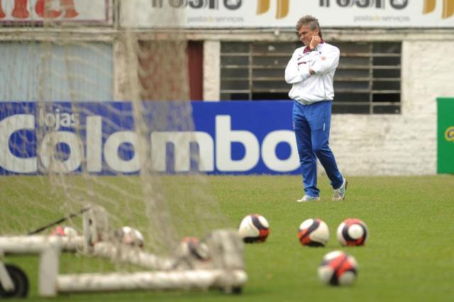 Luiz Carlos Winck vive primeiro grande clássico como treinador comandando o Caxias Diogo Sallaberry/Agencia RBS