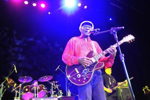 Relembre os shows de Chuck Berry em Porto Alegre Tadeu Vilani/Agencia RBS