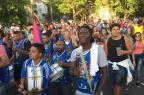 Bloco Fusca Azul toma ruas dos bairros Petrópolis e Bela Vista Jéssica Weber/Agencia RBS