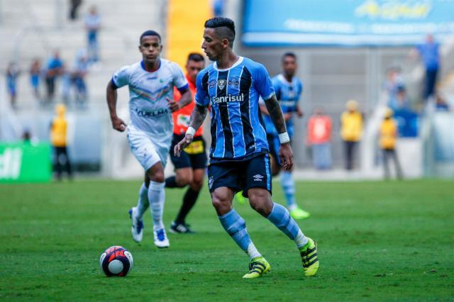 Com edema na coxa direita, Barrios está fora dos próximos dois jogos do Grêmio Lucas Uebel / Grêmio/Divulgação/Grêmio/Divulgação