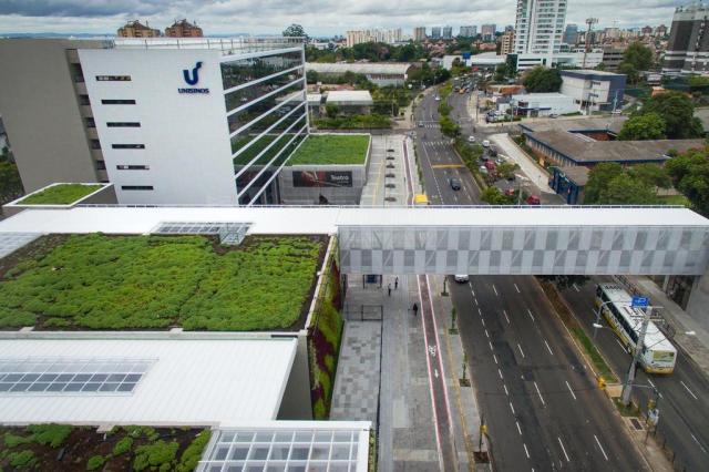 Novo campus da Unisinos em Porto Alegre investe em interatividade Bruno Alencastro/Agencia RBS