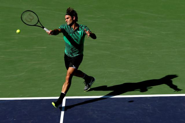 Após título em Indian Wells, Federer chega ao sexto lugar no ranking Matthew Stockman / Getty Images/AFP/Getty Images/AFP
