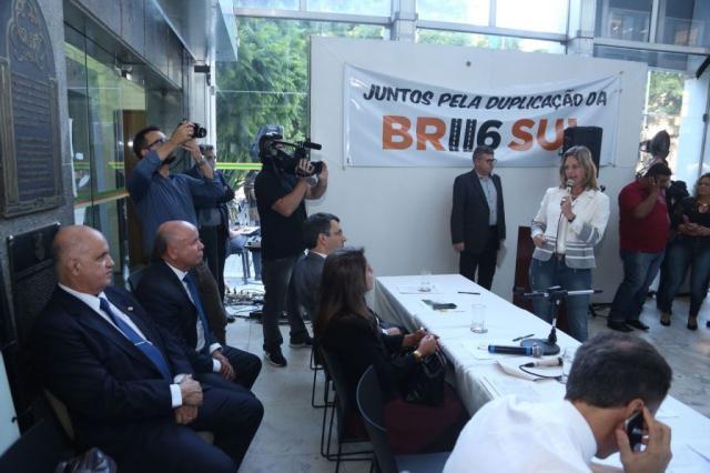 Movimento pela duplicação da BR-116 exige mais verbas para a obra no Rio Grande do Sul Gustavo Vara / Divulgação/Divulgação