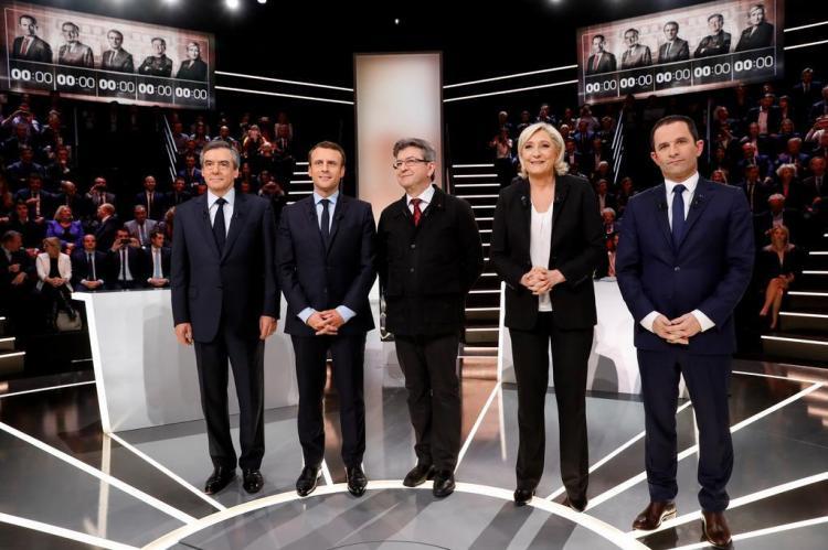 Por que Le Pen venceu o primeiro debate Patrick KOVARIK/AFP