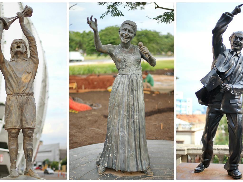 O que você acha das estátuas de Porto Alegre?