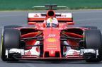 """Vettel: """"Não teremos problemas com as baixas temperaturas na Rússia"""" WILLIAM WEST/AFP"""