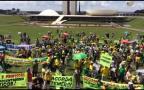 Manifestação em Brasília atrai apenas 630 pessoas neste domingo Silvana Pires / Agência RBS/Agência RBS