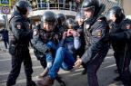 Protestos na Rússia terminam com centenas de detidos Alexander UTKIN/AFP
