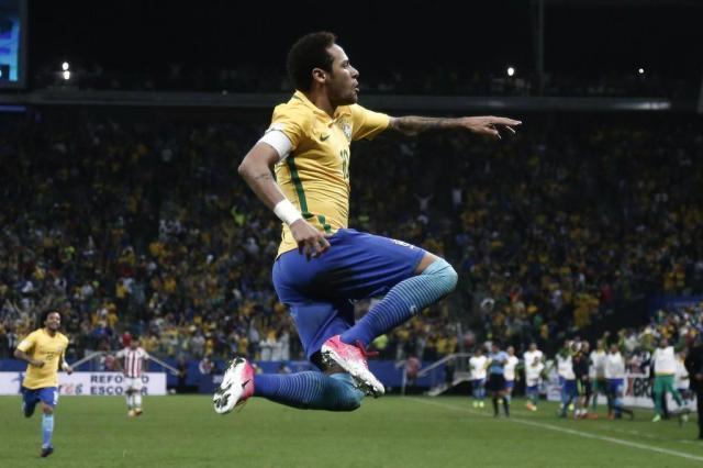 Ver a Seleção jogar virou um prazer Miguel SCHINCARIOL/AFP