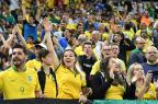 Apesar de multas, torcida brasileira volta a entoar grito homofóbico Nelson Almeida / AFP/AFP