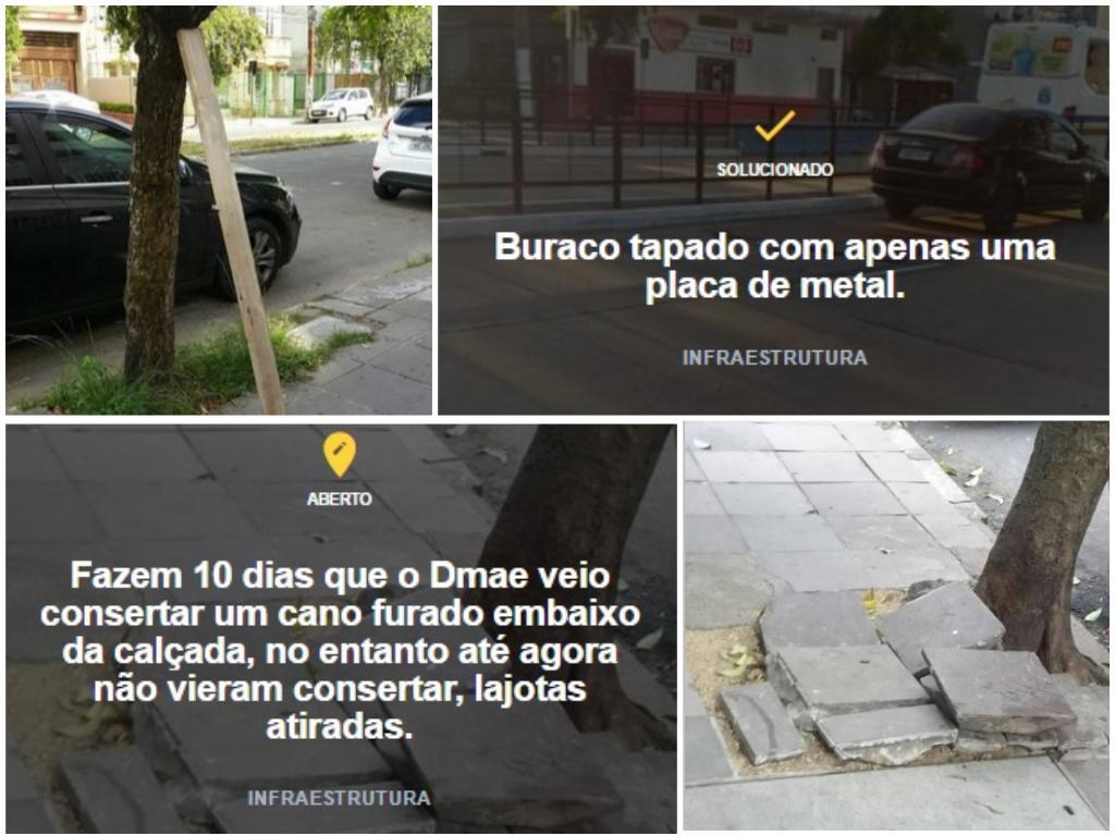 Pelas Ruas: app passa de 5 mil usuários e ajuda a solucionar problemas urbanos Pelas Ruas / Reprodução/Reprodução