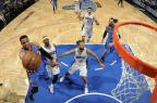 Westbrook quebra recorde e comanda vitória do Thunder sobre o Magic na prorrogação Fernando Medina / NBAE/Getty Images/AFP/NBAE/Getty Images/AFP