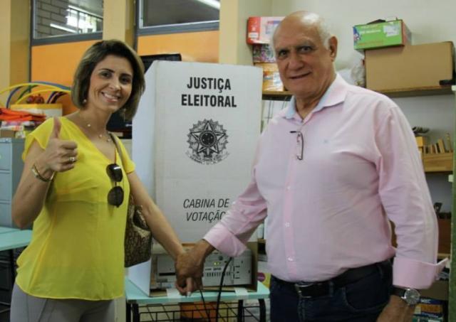 Mulher de Lasier Martins registra queixa contra senador por agressão Reprodução/Facebook