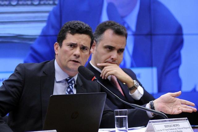 """Moro defende """"salvaguarda"""" na lei de abuso de autoridade Lucio Bernardo Jr/Agência Câmara,Divulgação"""