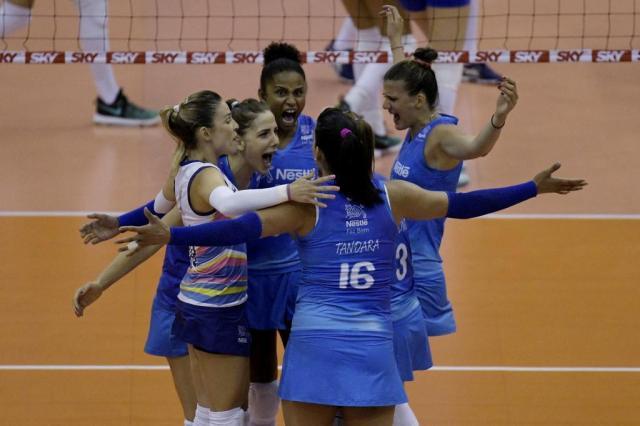 Semifinal da Superliga feminina começa nesta sexta-feira Alexandre Loureiro/CBV