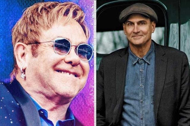 AO VIVO: acompanhe o show de Elton John e James Taylor em Porto Alegre Divulgação/Divulgação